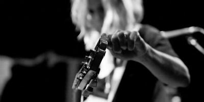 Katie Herzig Tuning guitar